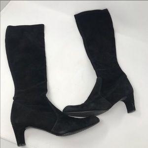 Stuart Weitzman heeled tall boots size 6.5